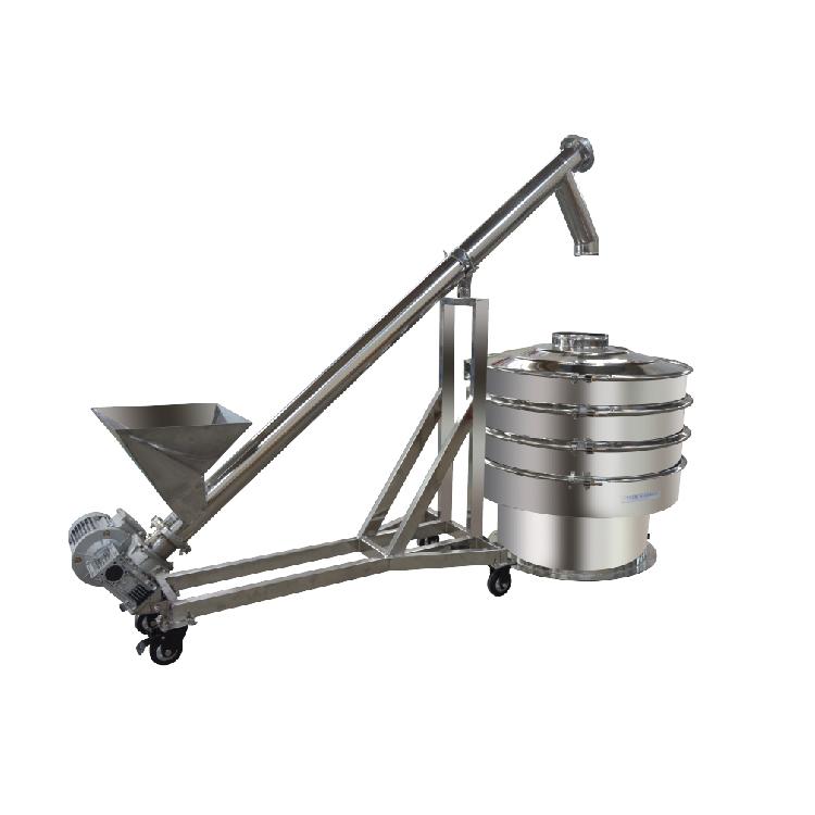 Stainless steel coffee salt screw conveyor_3