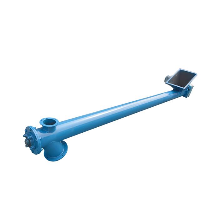 Screw conveyor feeder elevator machine_4