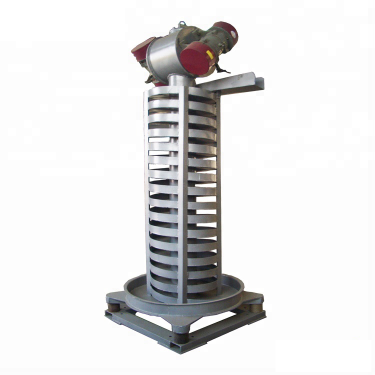Spiral elevator vibrating conveyor machine_3