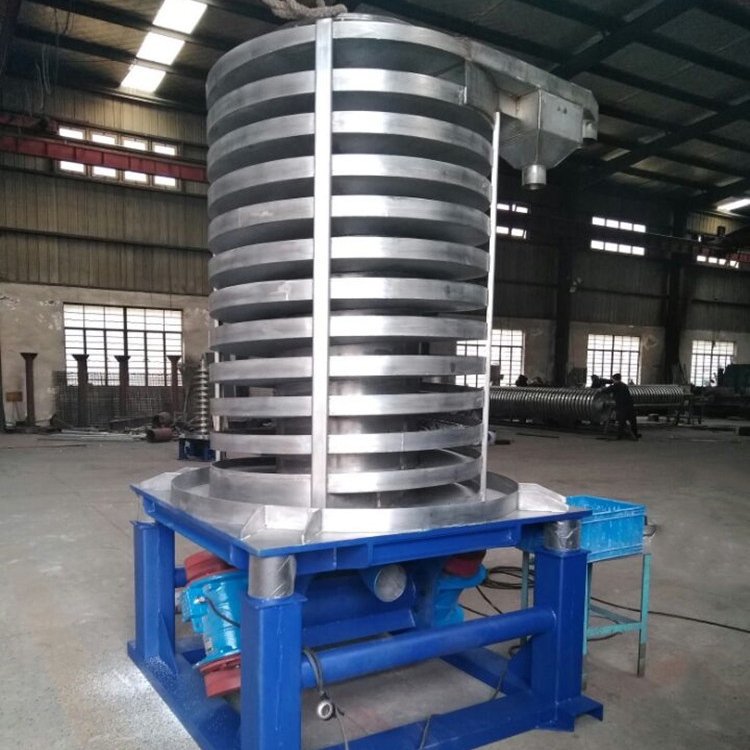Vertical spiral conveyor for lifting_3