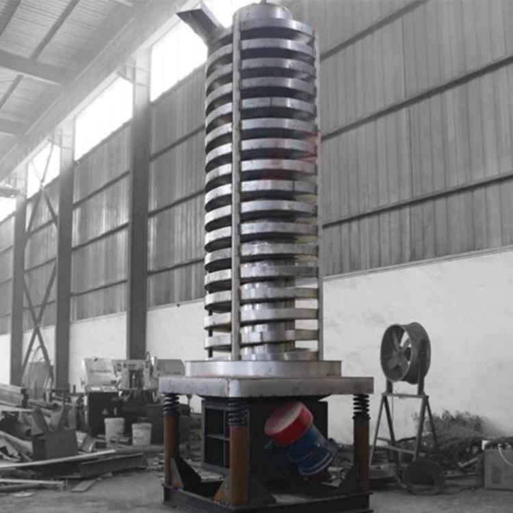 Spiral Vibrating Conveyor for chemical powder_2