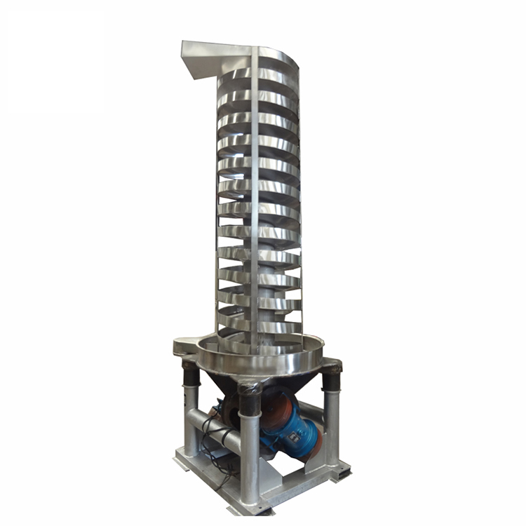 Stainless Steel Drying Cooling Vertical vibrating Lift Elevator_2