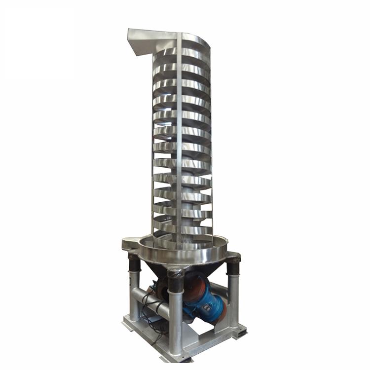 Vibro spiral conveyor/ vertical vibrator feeder for pellet particle powder_2