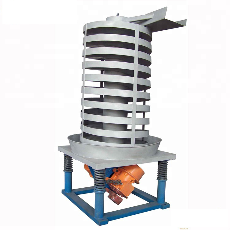 Cooling spiral elevator 50 kg Vertical vibrating Screw Conveyors_2