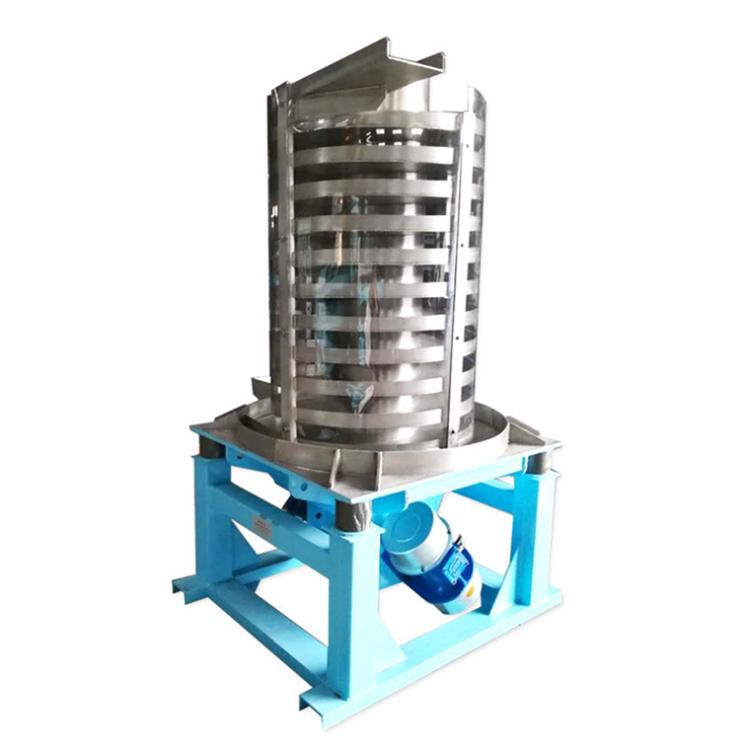 Vibrating spiral conveyor for Granular Material_2