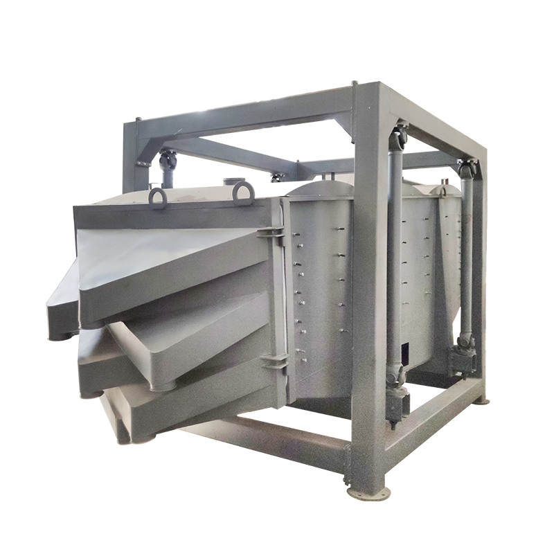 Customized Multilayer gyratory sifter silica sand_2