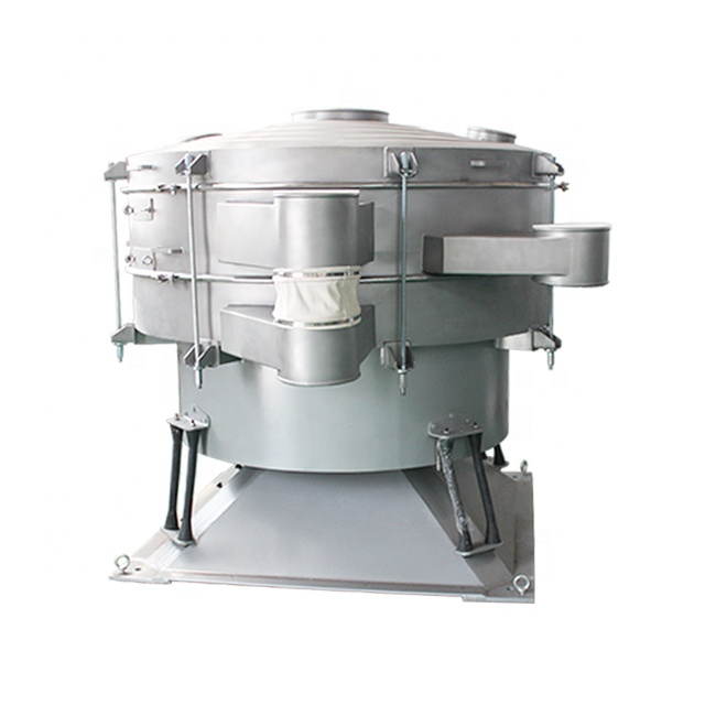 Silica sand screening machine swing tumbler screener_2