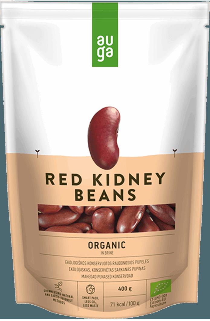 Auga organic red kidney beans
