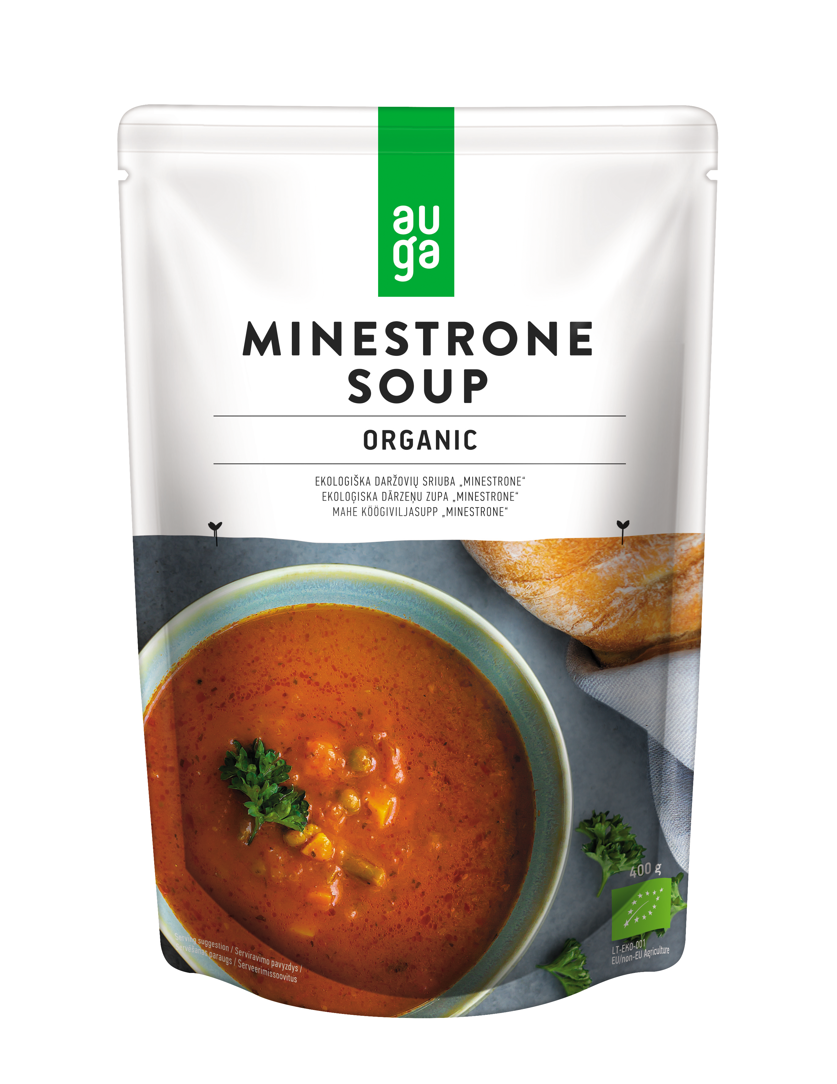 Auga organic ministrone soup