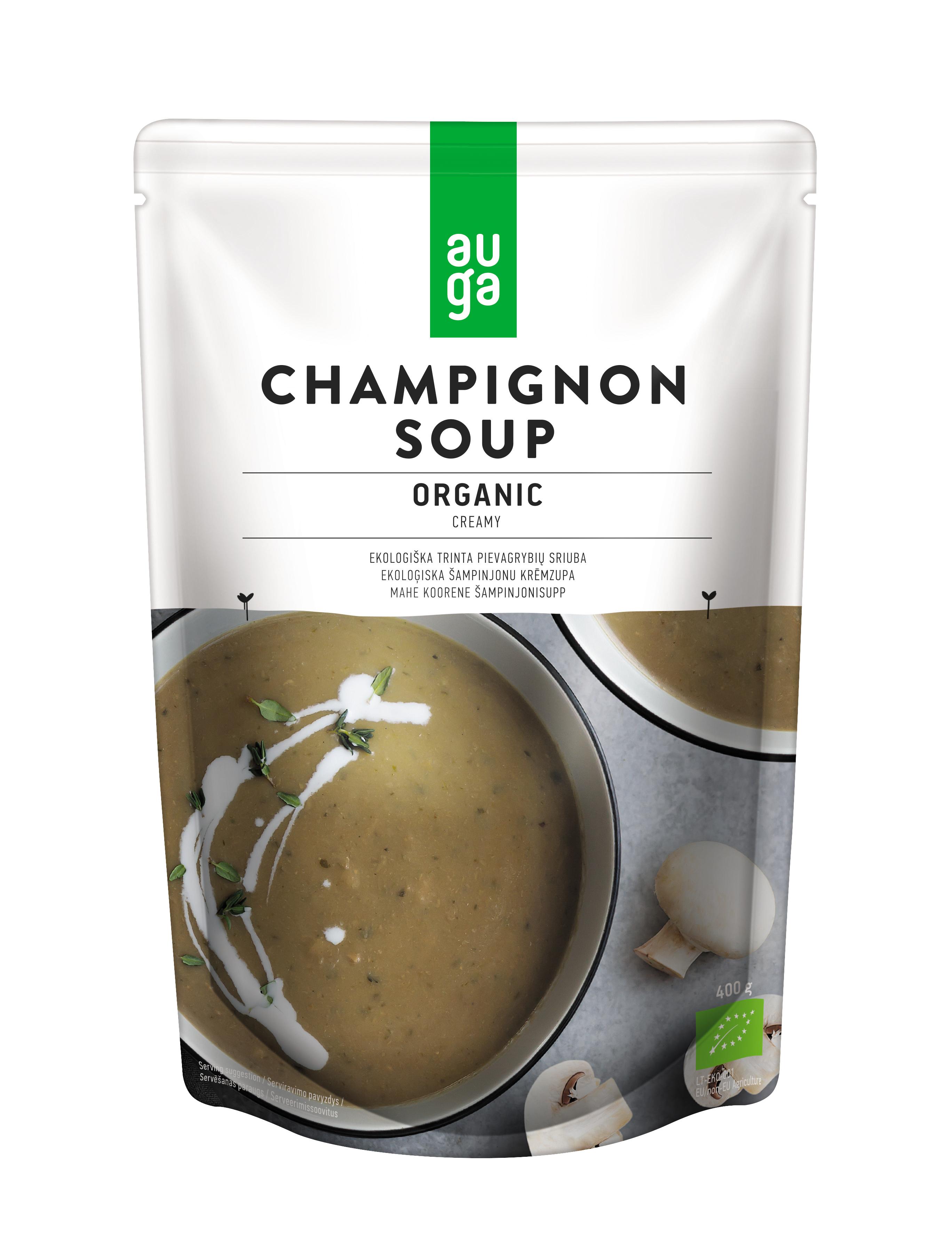 Auga organic champignon soup