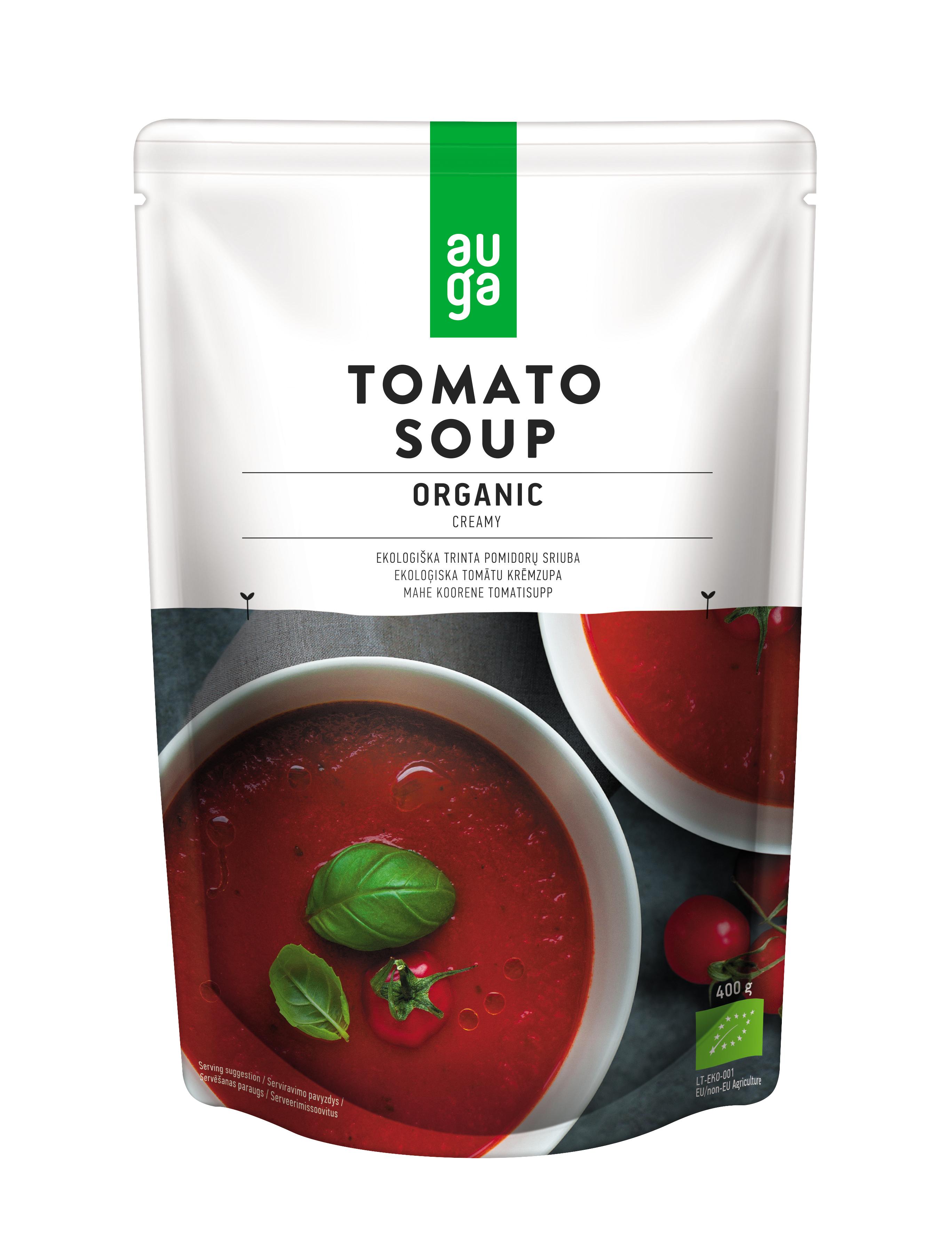 Auga organic tomato soup