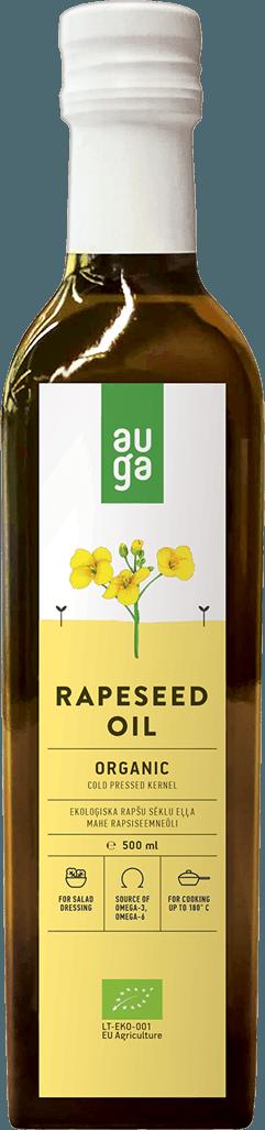 Auga organic rapeseed oil