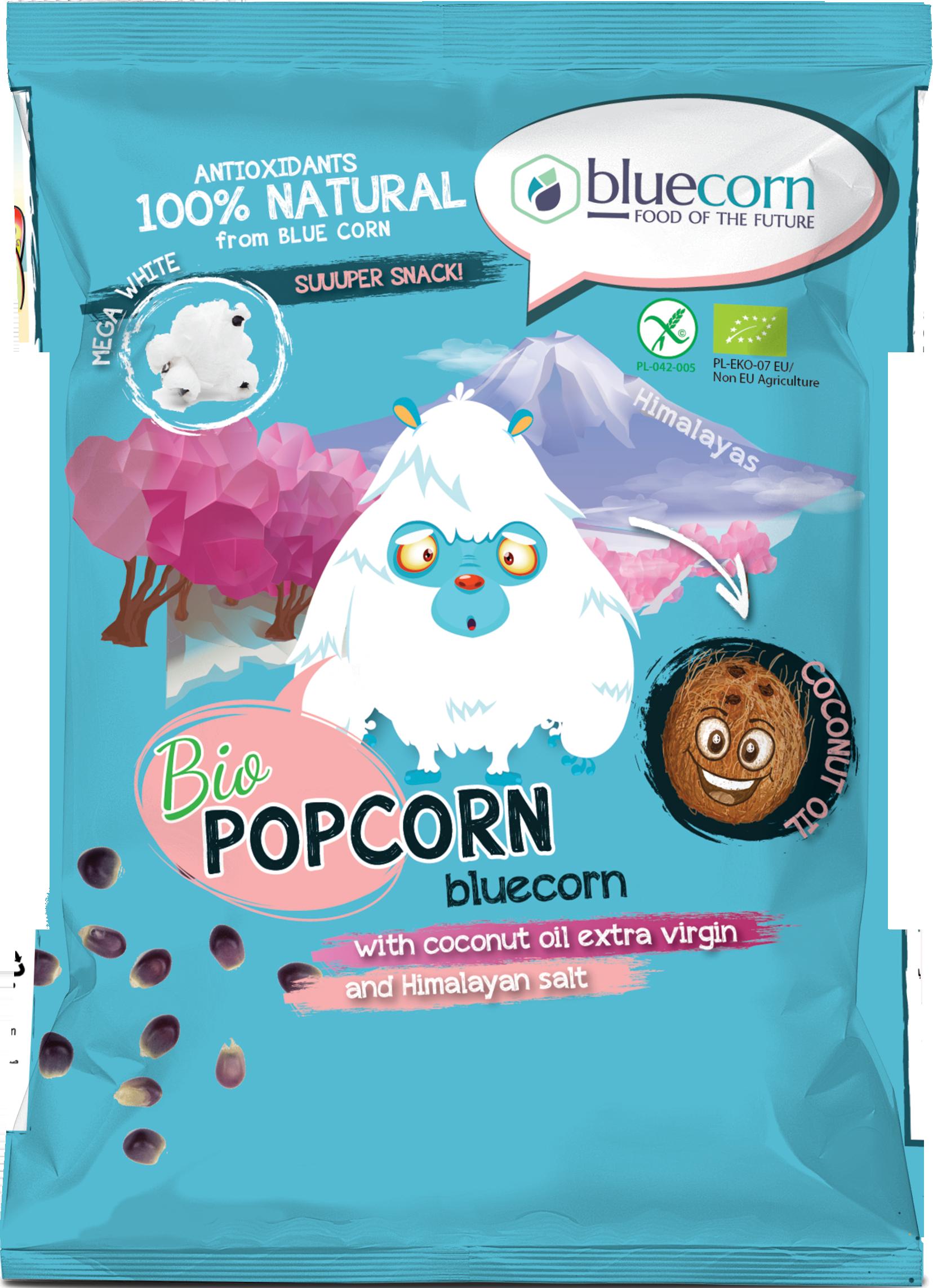 Pyramids popcorn with himalayan salt  gluten free