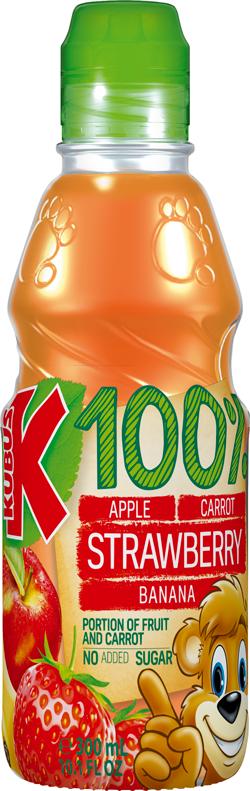 Juice 100% Strawbery,Apple,Carrot,Banana No Sugar Added_2