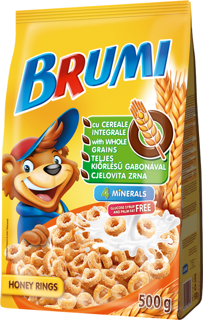 Brumi honey rings 500 g