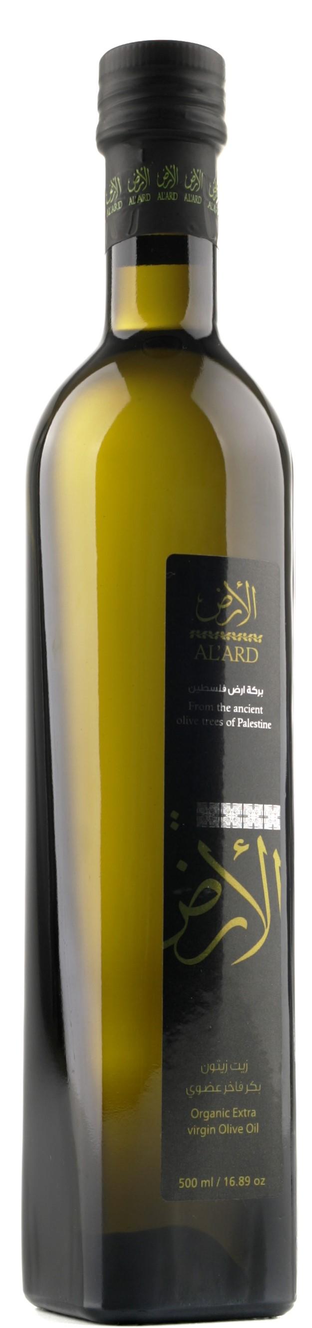 Organic extra virgin palestinian olive oil