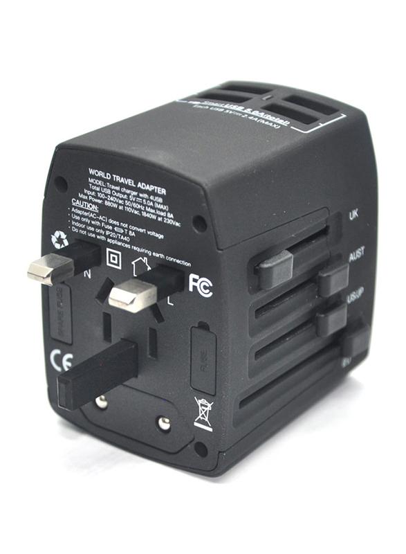 Brave global travel charger black - (bgt-001)