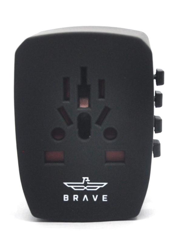 BRAVE Global Travel Charger Black - (BGT-001)_6