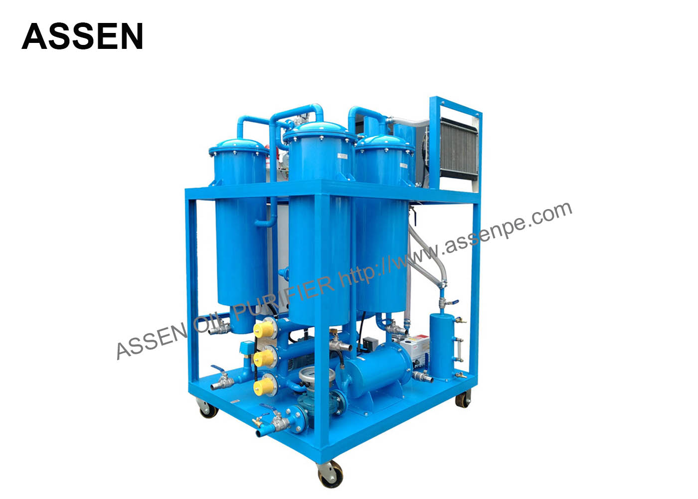 Ty turbine oil conditioner,hydraulic fluid purification system plant