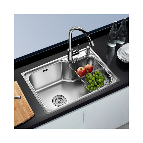 Single Bowl Sink With Faucet_2