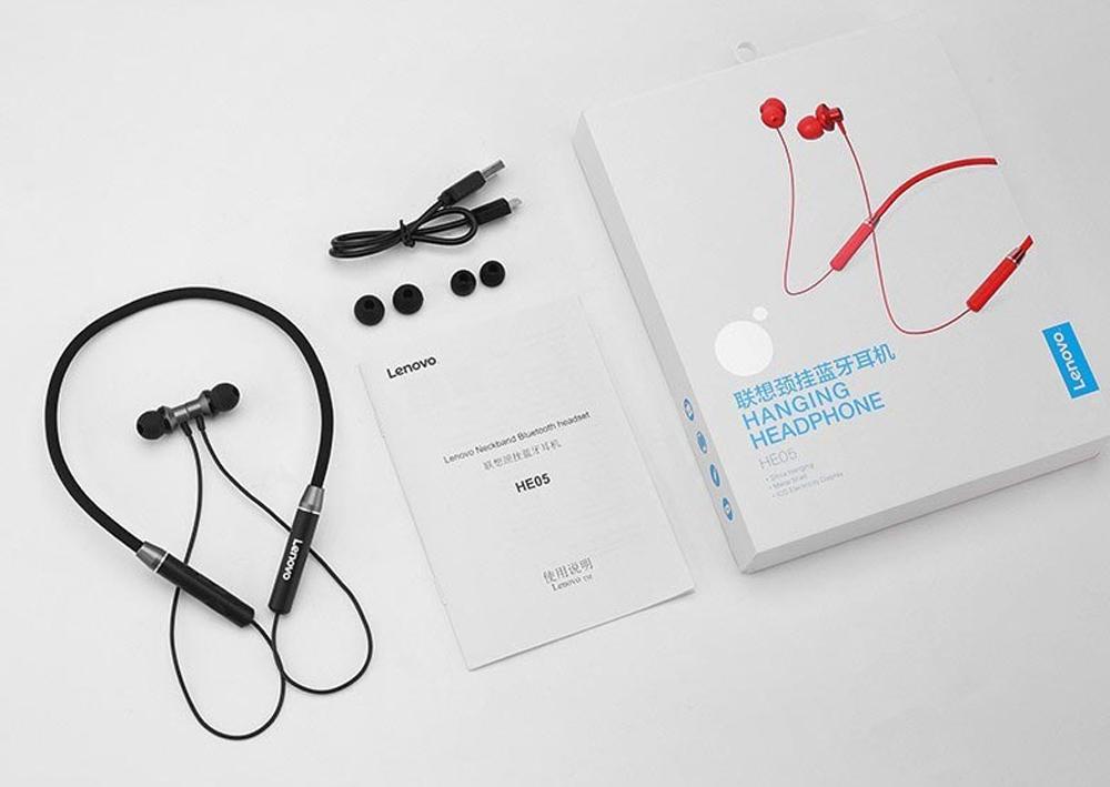 Lenovo hanging headphone he05