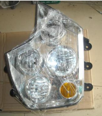 Howo a7 truck parts , head lamp f l wg9925720001
