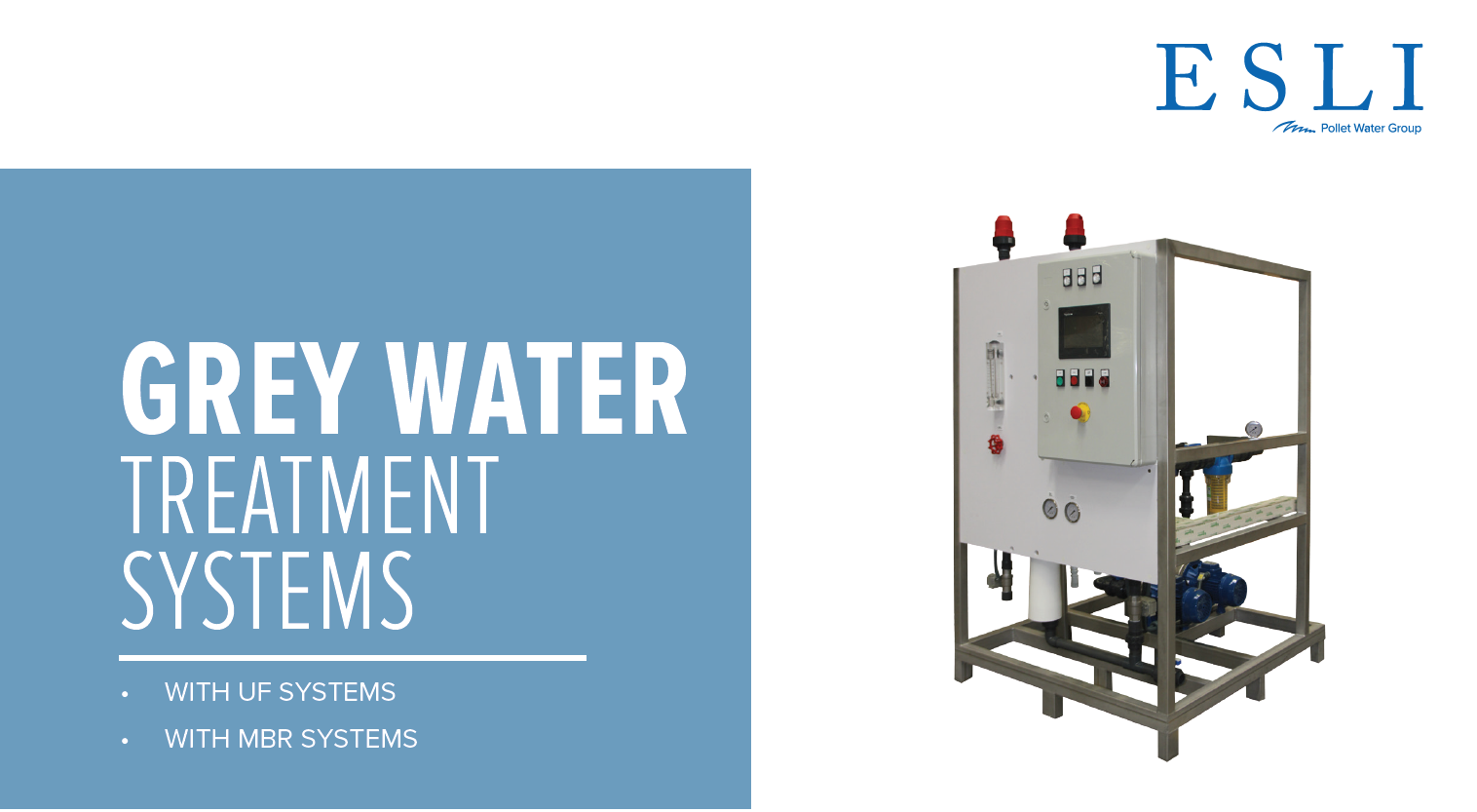 Grey water treatment systems
