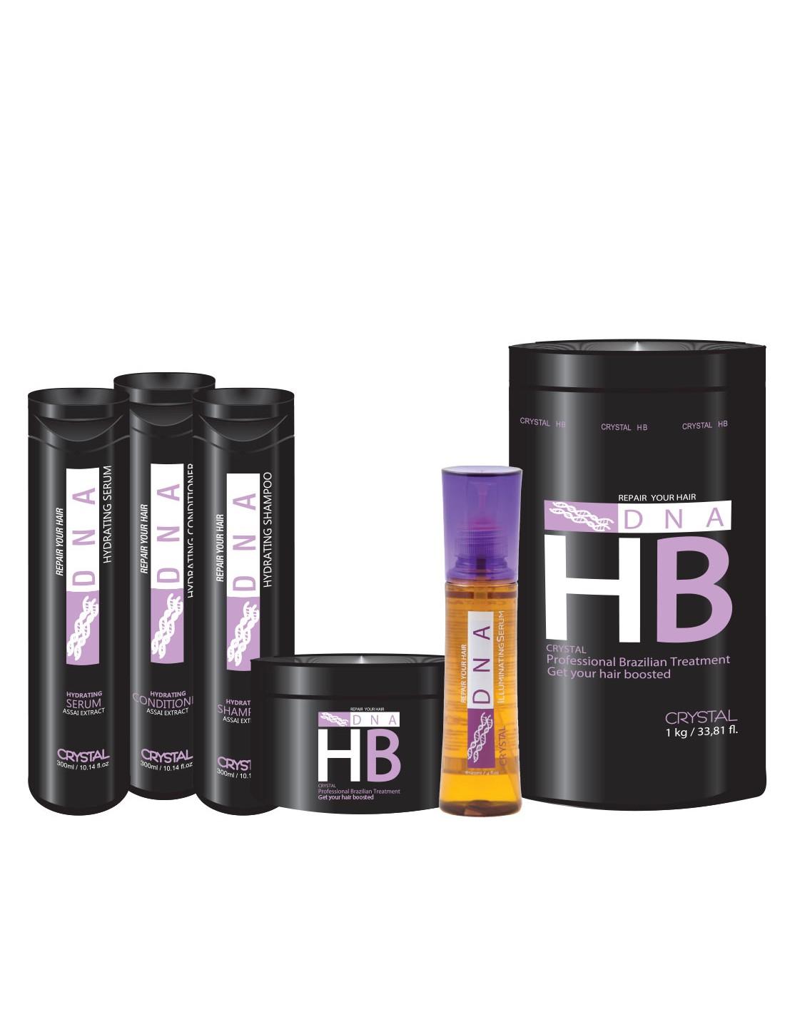 Crystal dna hb full set (1kg treatment)