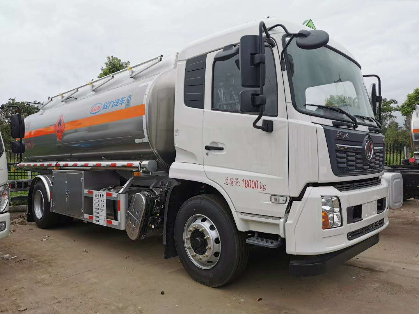Anti-static fuel tanker trucks