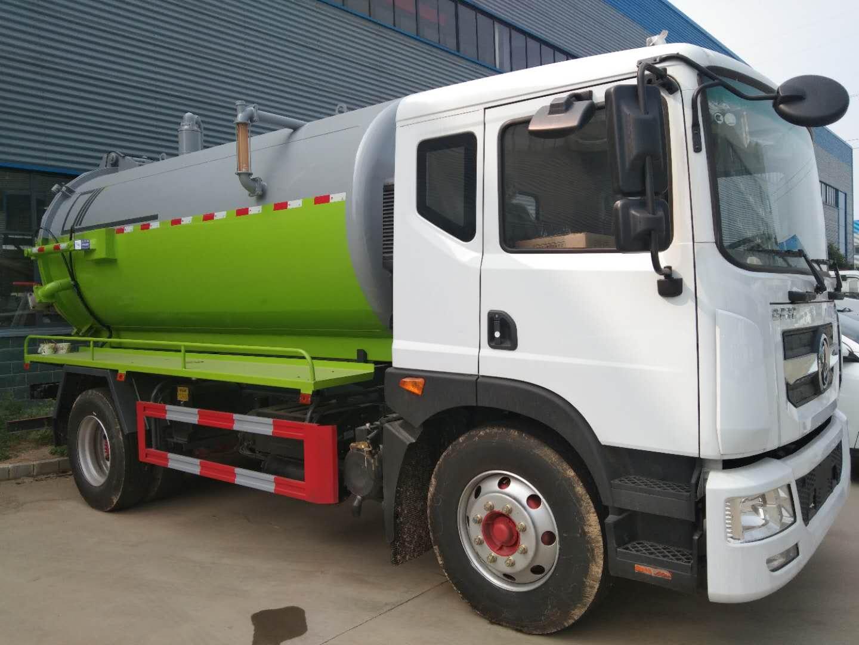 High volume sewage suction trucks