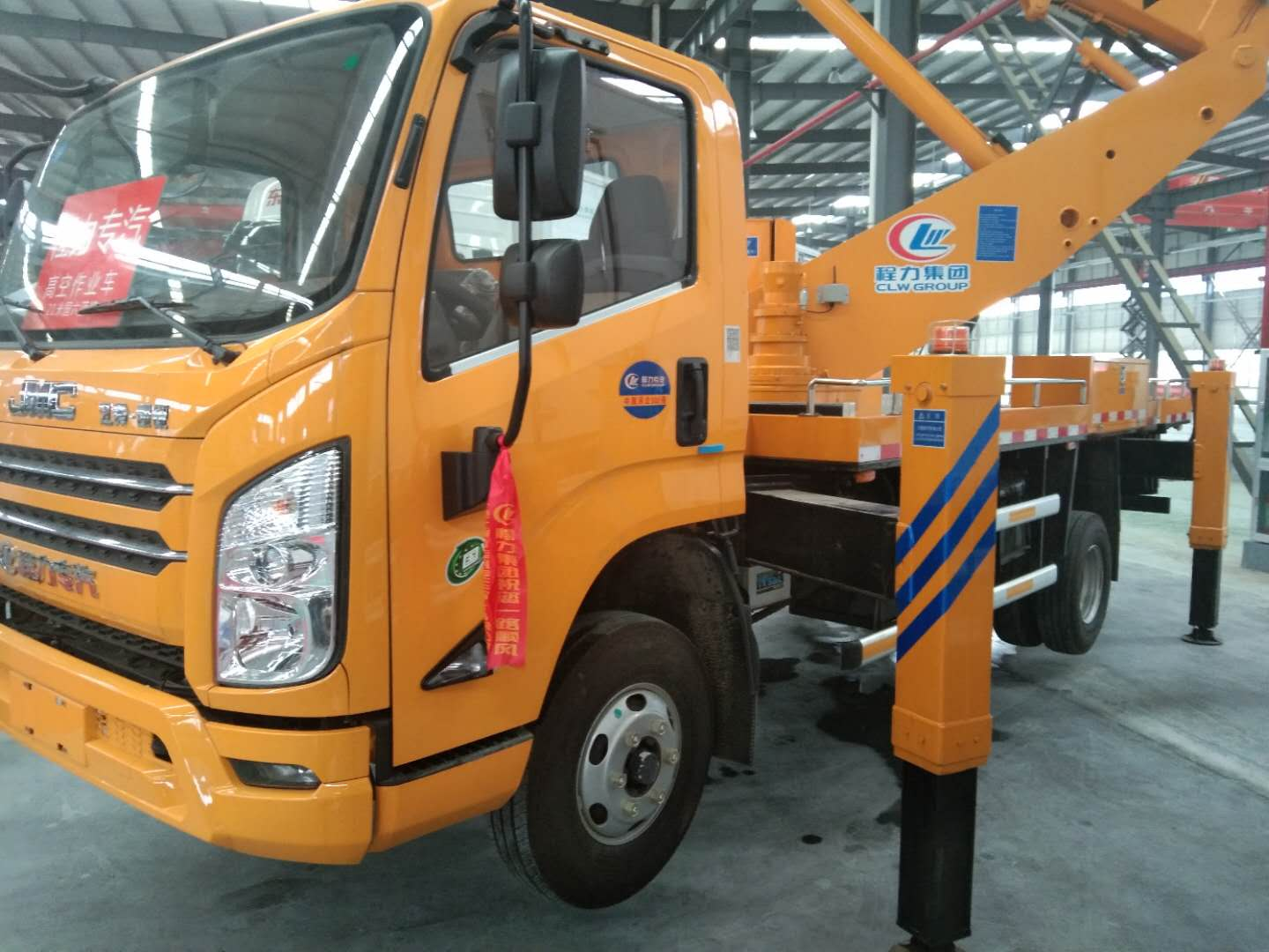 Overhead working trucks safe and effective