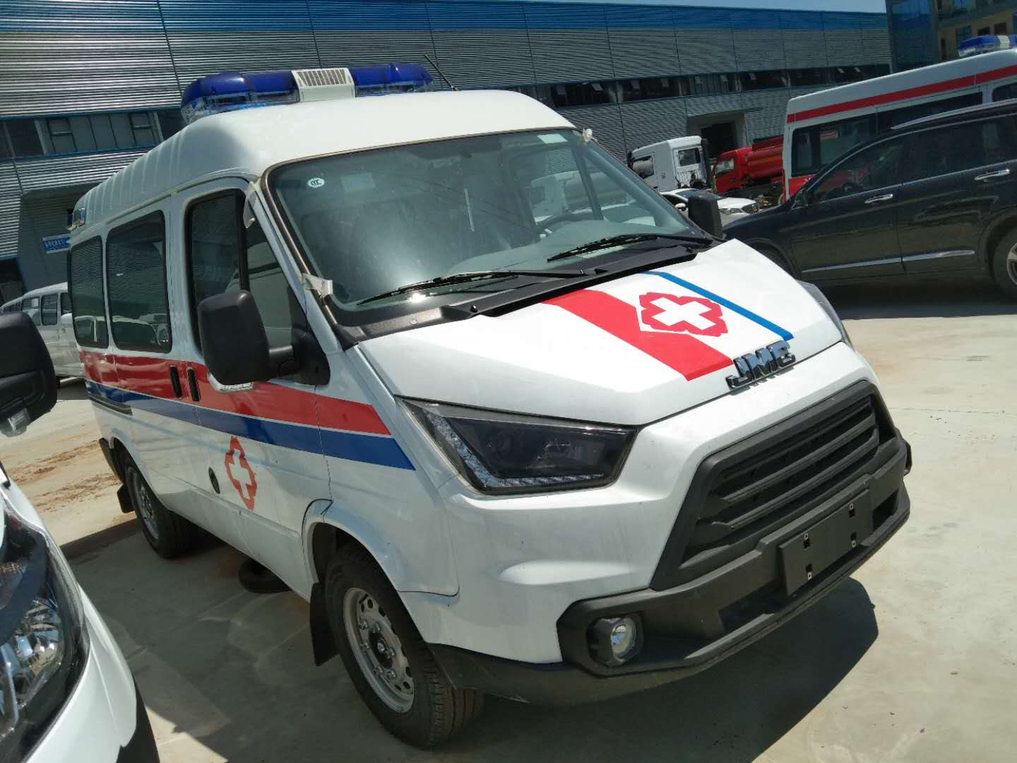 New ambulance vehicles for fighting covid-19