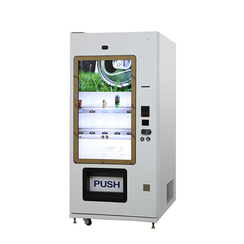46 inch touch screen snack/drink vending machine: lv-205y-46