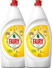 Fairy Lemon Dish Washing Liquid Soap, 750 ml, Dual Pack_2
