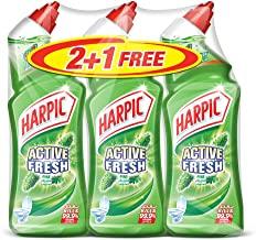 Harpic Toilet Cleaner Liquid Active Fresh Pine, 750ml 2+1 Free_2