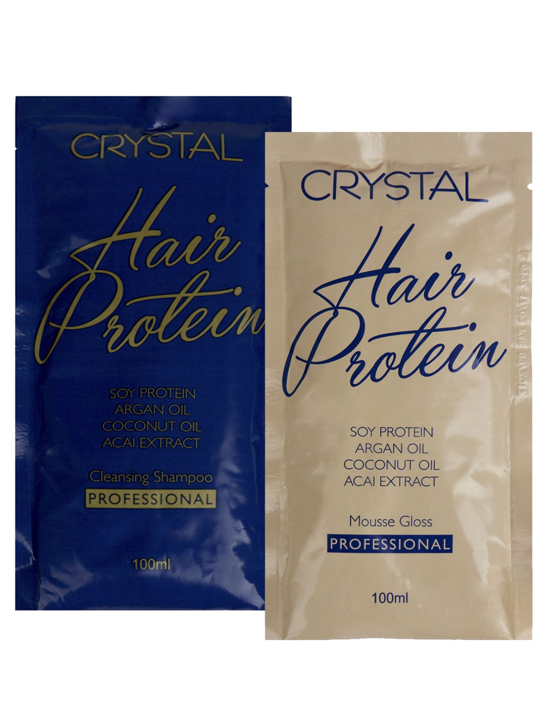 Crystal hair protein set 100ml