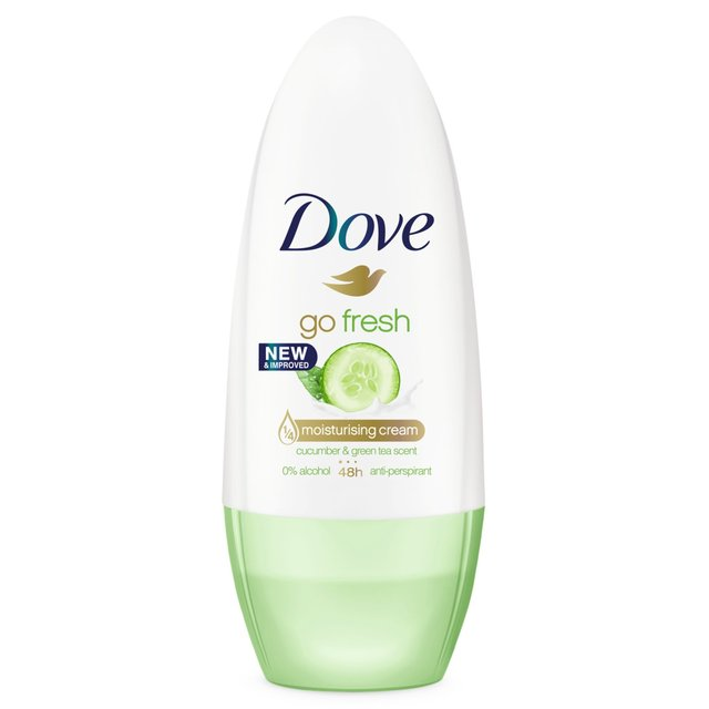 Dove antiperspirant roll-on cucumber & green tea, 50ml
