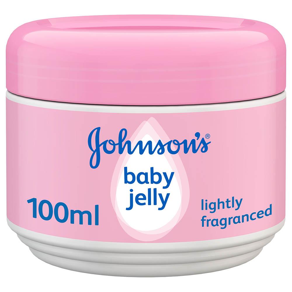 Johnson's baby jelly fragrance free, 100ml