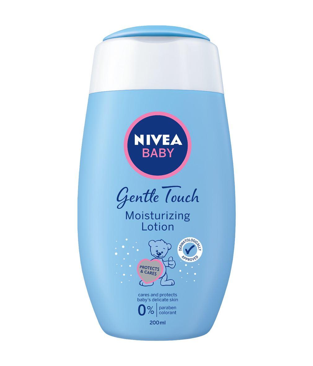 Nivea baby moisturizing lotion mild touch