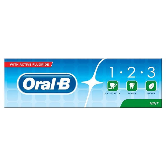 Oral b complete extra fresh mint toothpaste, 4 x 100 ml