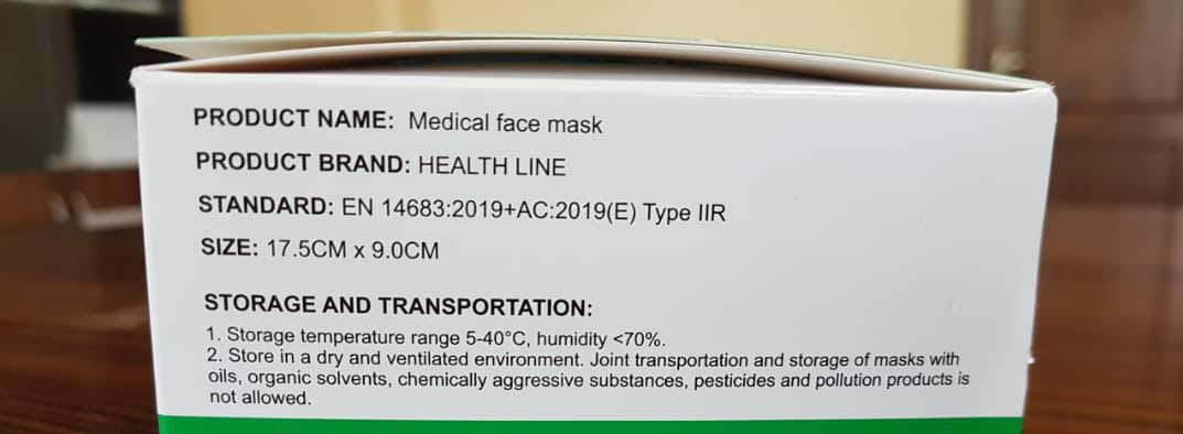 3 Ply Face Masks, Medical/Non Medical - Type IIR_3