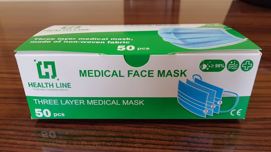 3 Ply Face Masks, Medical/Non Medical - Type IIR_5