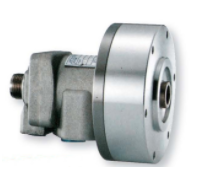 Sy-q rotary hydraulic cylinder with air connection