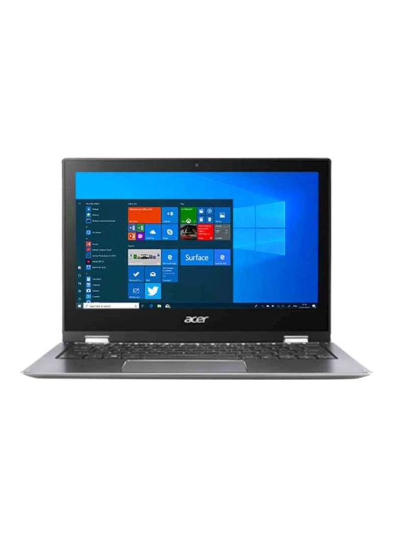 Spin Convertible 2-In-1 Laptop With 11.6-Inch Display, Celeron Processor 4GB RAM 64GB Flash Memory Intel HD Graphics Steel Grey