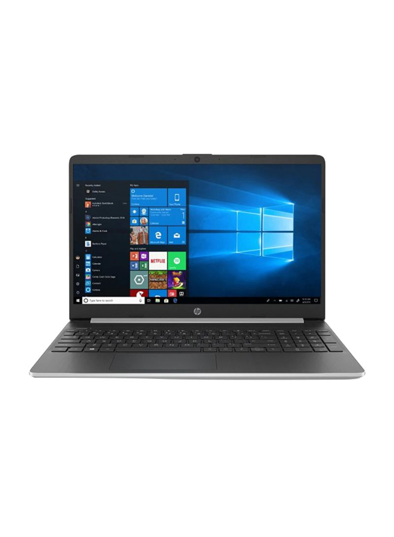 Notebook 15-DY1731 Laptop With 15.6-Inch Display, Core i3 Processor 8GB RAM 128GB SSD Intel UHD Graphics 620 Silver