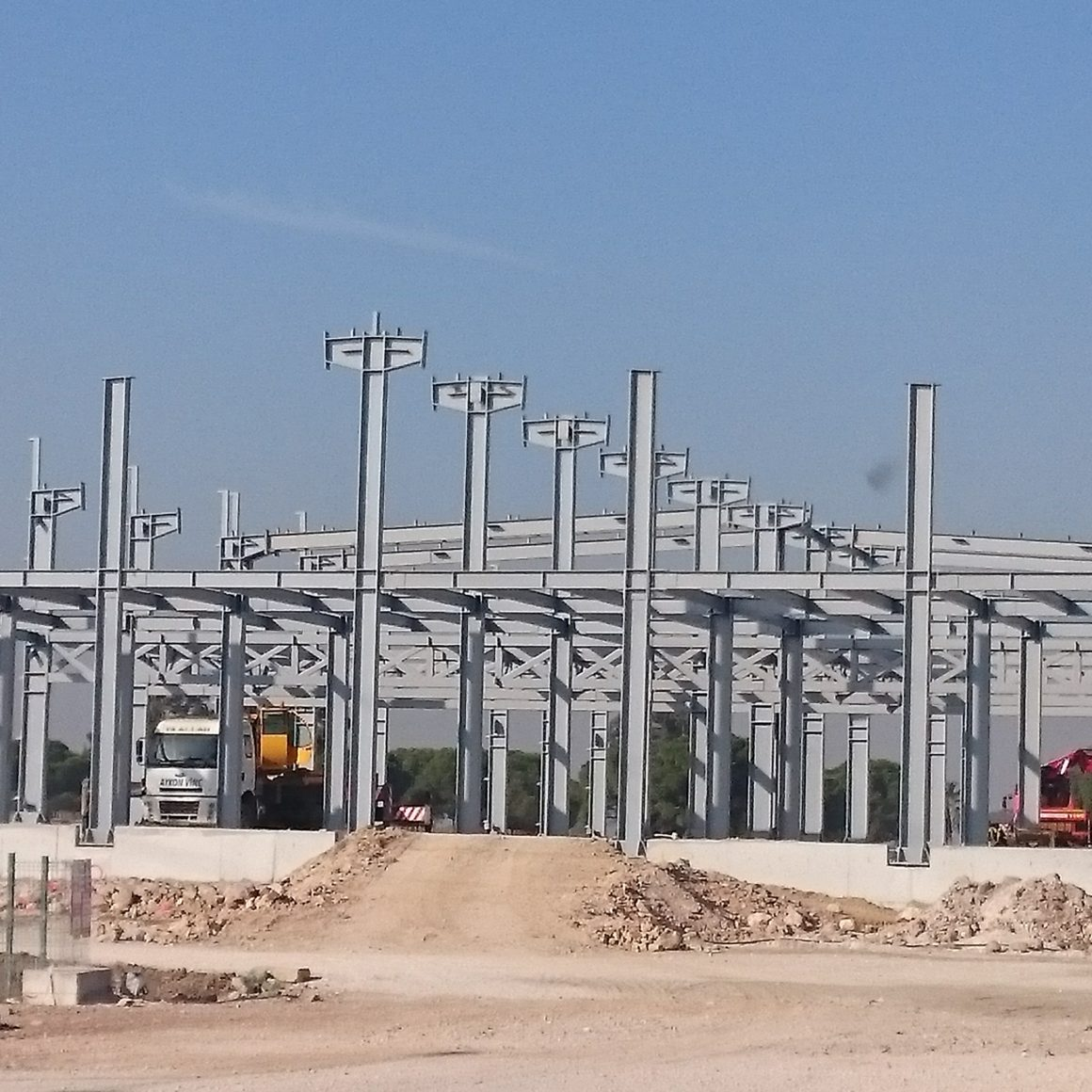 Steel Structure PEB Factory and Warehouse_2