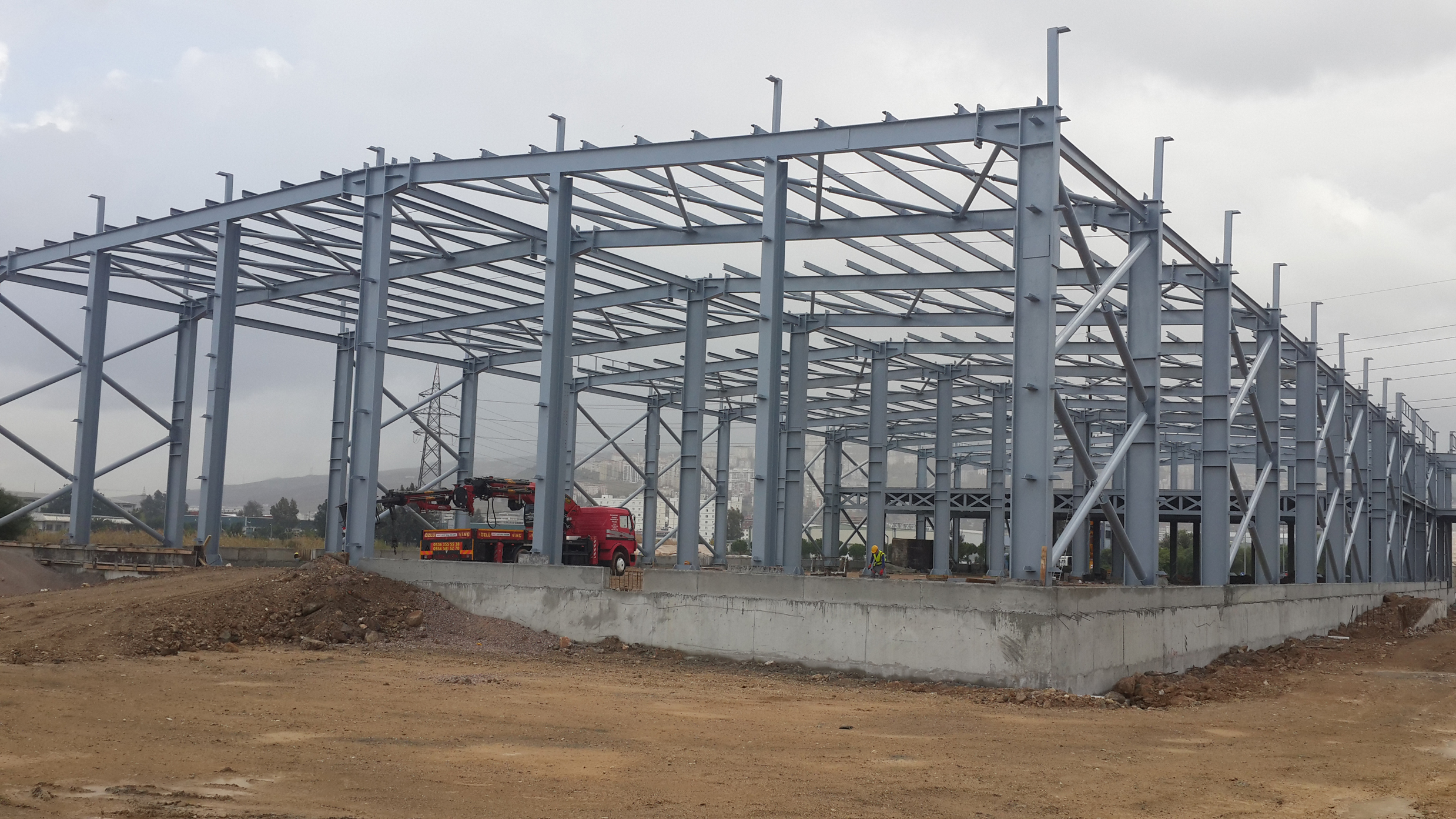 Steel Structure PEB Factory and Warehouse_4