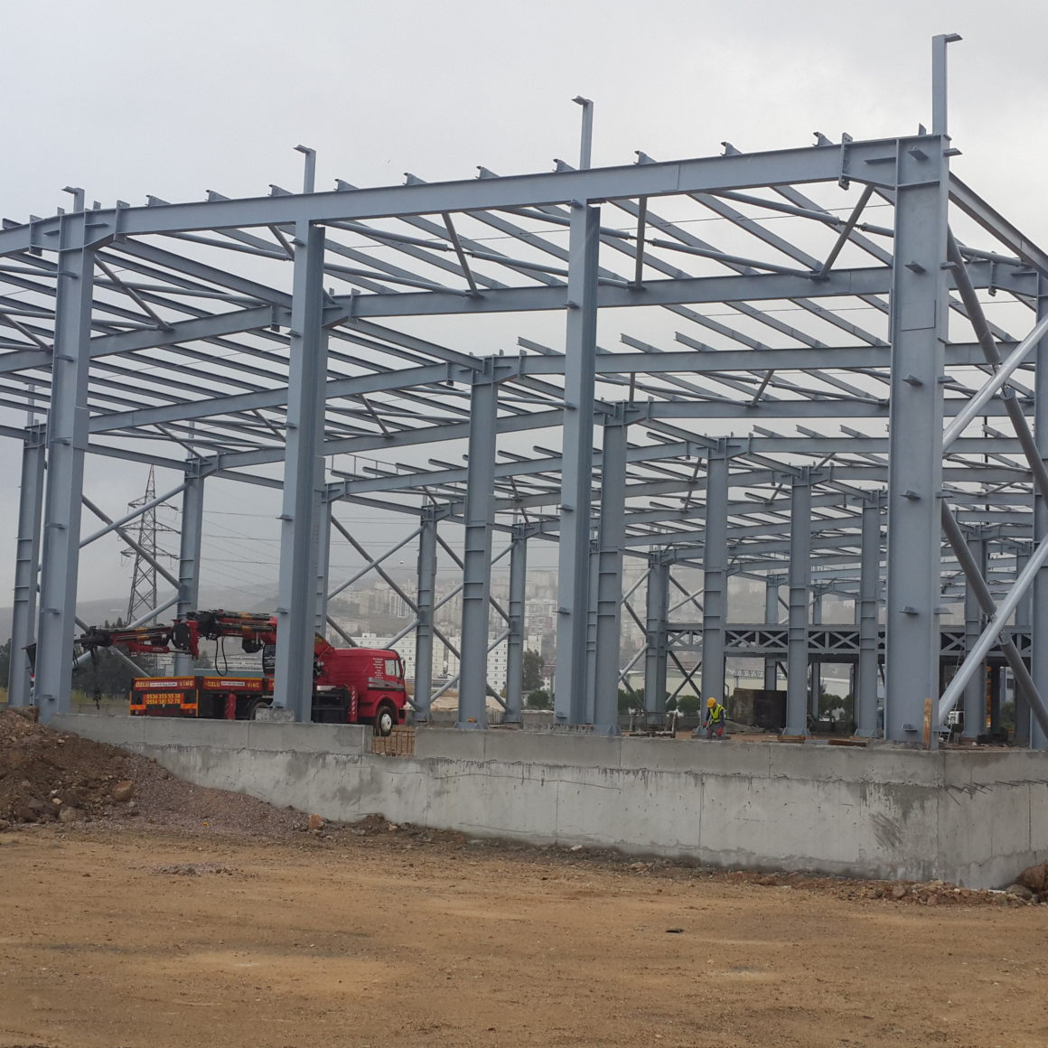 Steel Structure PEB Factory and Warehouse_3