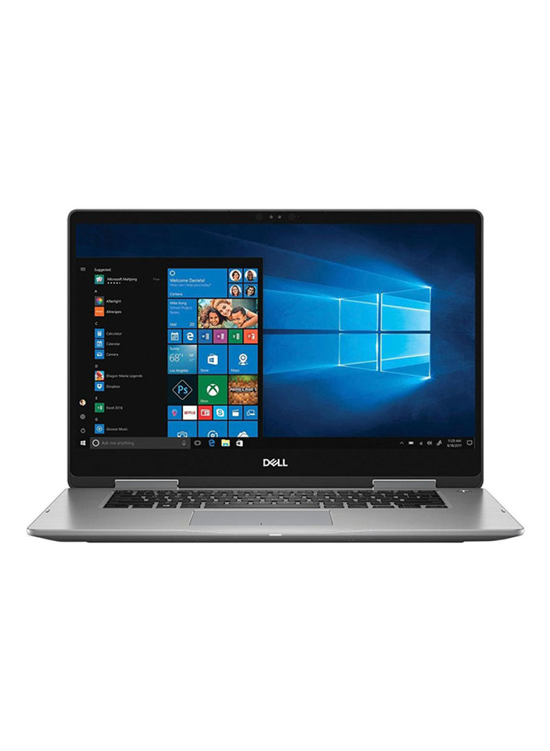 Inspiron 7573 Convertible 2-In-1 Laptop With 15.6-Inch Display, Core i7 Processor 16GB RAM 512GB SSD Intel UHD Graphics 620 Silver_2