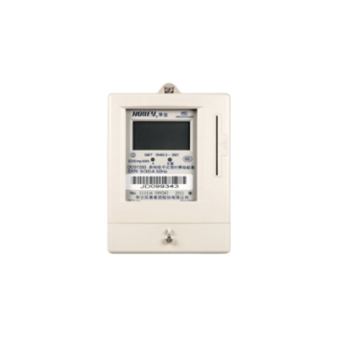 Ddsy283 single-phase electronic pre-paid energy meter